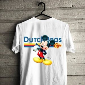 dutch bros Tops - Dutch bros and Mickey Mouse t shirt